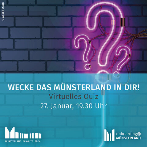 Virtuelle Quiznight: Wecke das Münsterland in dir!
